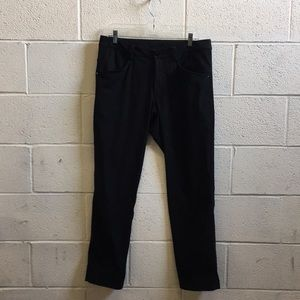 Lululemon men's black pant sz 36 57526